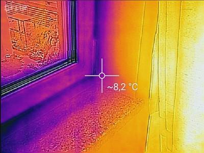 Wärmeverluste, Wärmebrücken, Bauabnahme, Thermografie, Wärmeverluste prüfen