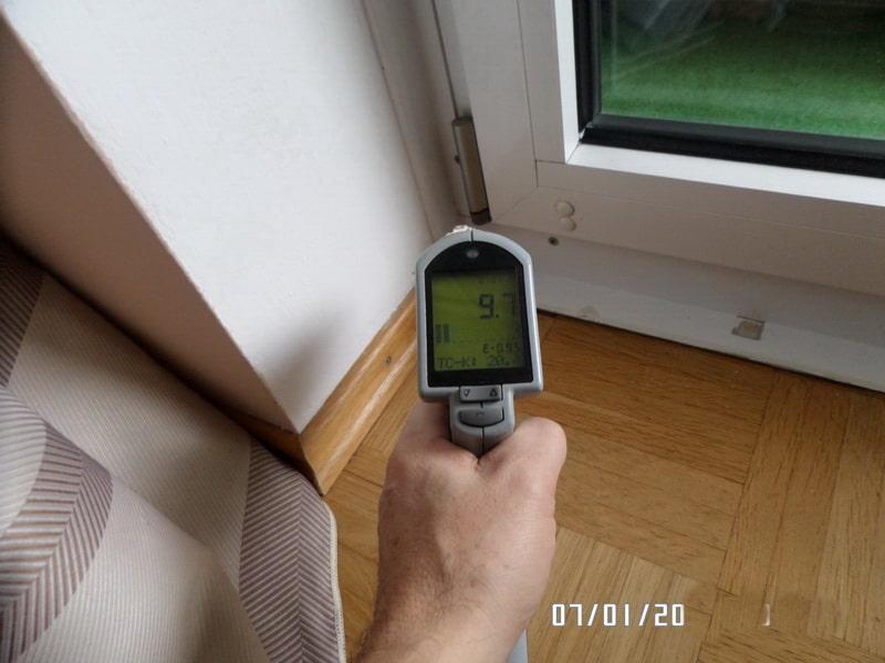Nachkontrolle Fenstereinbau im Winter