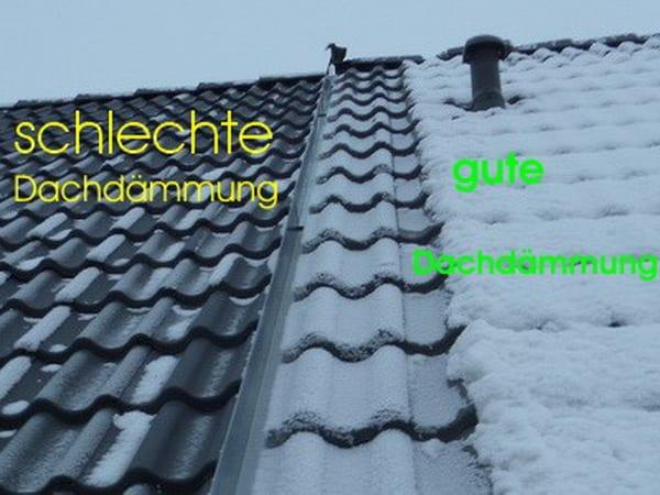 Wärmedämmung Dach prüfen Wärmeverluste