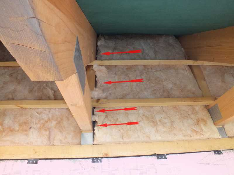 Immobiliencheck-Hausinspektion Bauabnahme Kontrolle Dachdämmung