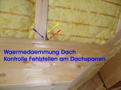 waermedaemmung dach pruefen waermeverluste hausgutachter