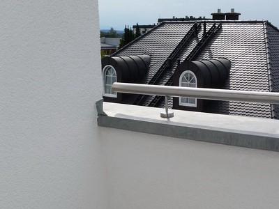 Immobiliencheck-Hausinspektion Bauabnahme Balkon Fassade