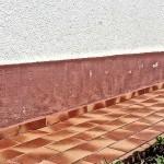Wärmedämmsystem der Wand nicht ausreichend tief, Putzabplatzungen Farbabplatzungen