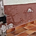 Gutachten zuWasserschaden-Frostschaden Putzabplatzungen Farbabplatzungen