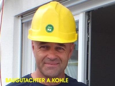 BEWEISSICHERUNG Ulm Lindau Kempten AllgäuBaugutachter Bodensee A. Kohle