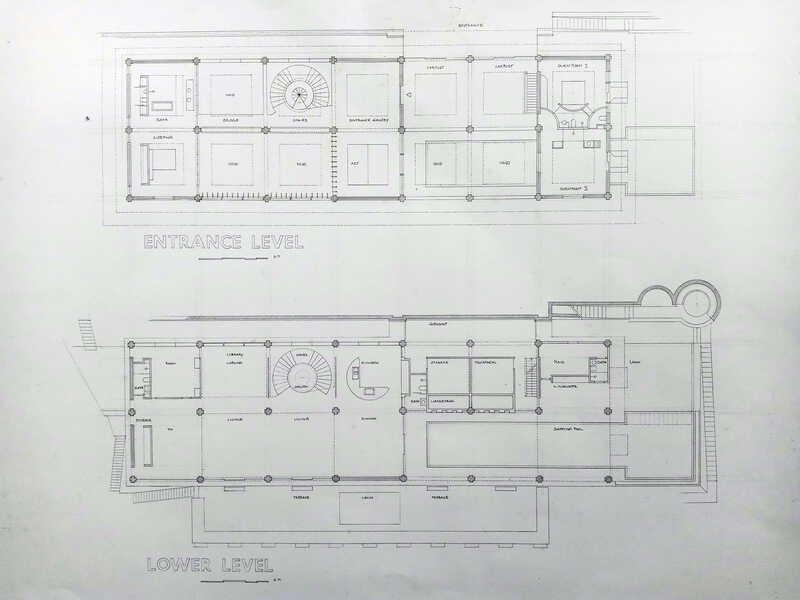 Floor plan, view of the building