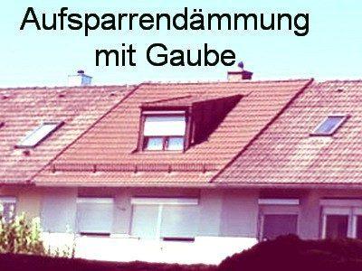 KfW Maßnahmen: Dämmung des Daches: Aufsparrendämmung
