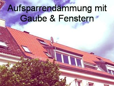 Kreditanstalt für Wiederaufbau Maßnahmen: Dämmung des Daches: