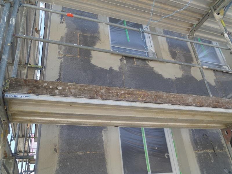 neues Haus bauen, Kontrolle Dämmung der Außenwände