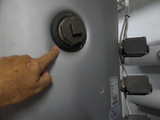 Kontrolle der Haustechnik , auf Wärmeverluste Gewährleistungbegehung vor Ablauf 5 Jahre