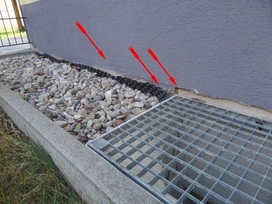Kontrolle Gemeinschaftseigentum Abriß der Schutzlage & Abdichtung im Spritzwasserbereich