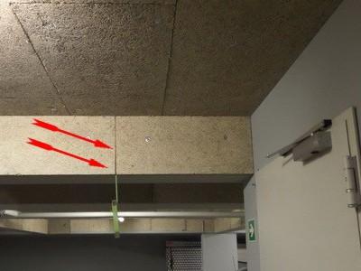 KfW Maßnahme gefördert Dämmung der Kellerdecke, Kontrolle Dämmung der Kellerdecke